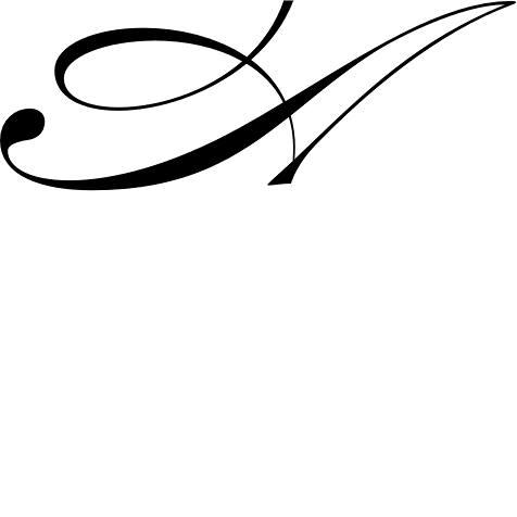 mẫu chữ A đẹp