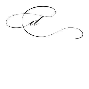 mẫu chữ d,đ đẹp