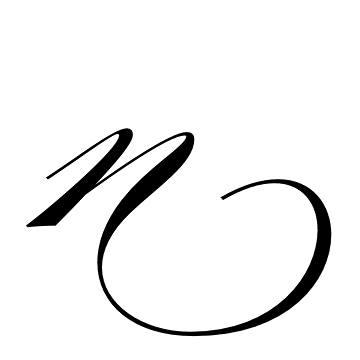 mẫu chữ n đẹp