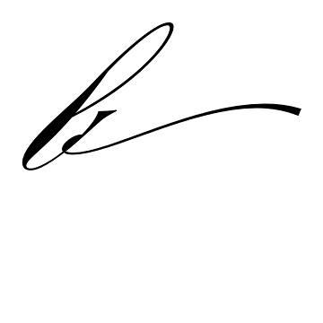 mẫu chữ B đẹp