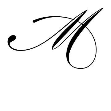mẫu chữ m đẹp