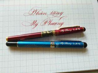 bút ký khắc tên