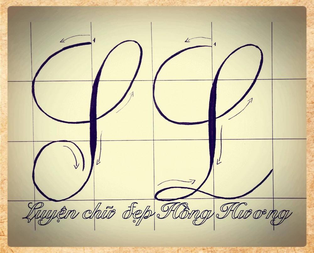 luyen viet chu dep 1 - Mẫu chữ viết tay trong luyện viết chữ đẹp