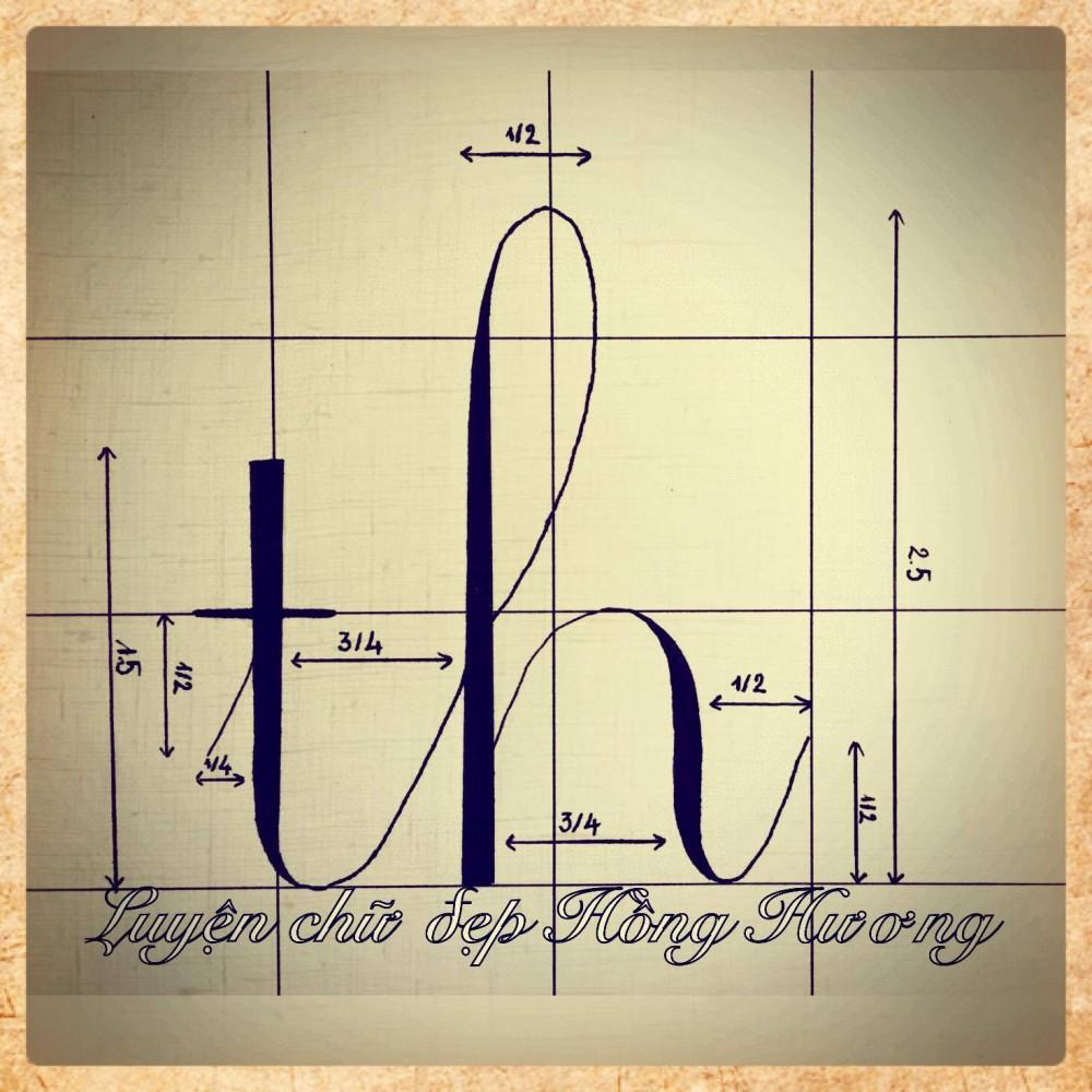luyen viet chu dep 10 - Mẫu chữ viết tay trong luyện viết chữ đẹp
