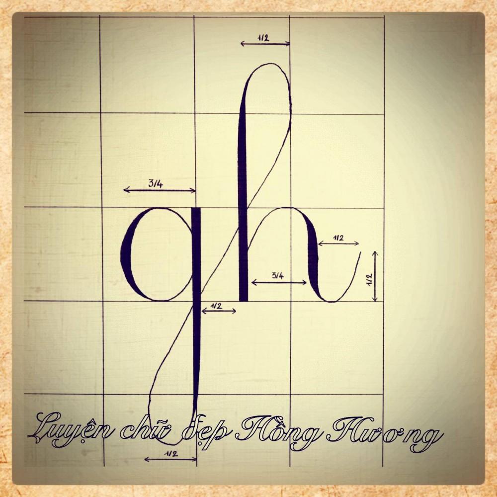 luyen viet chu dep 13 - Mẫu chữ viết tay trong luyện viết chữ đẹp