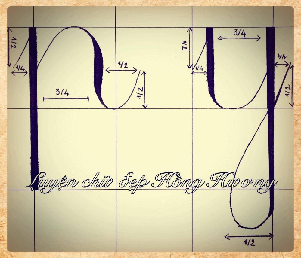 luyen viet chu dep 14 - Mẫu chữ viết tay trong luyện viết chữ đẹp