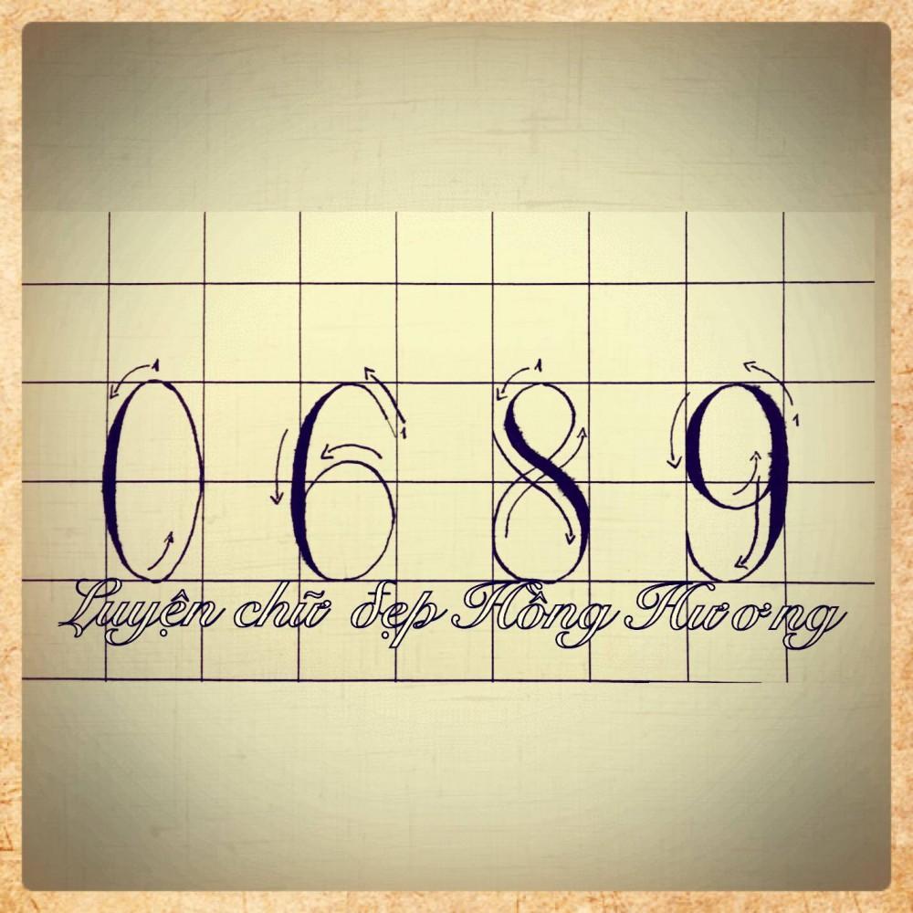 mẫu chữ viết tay