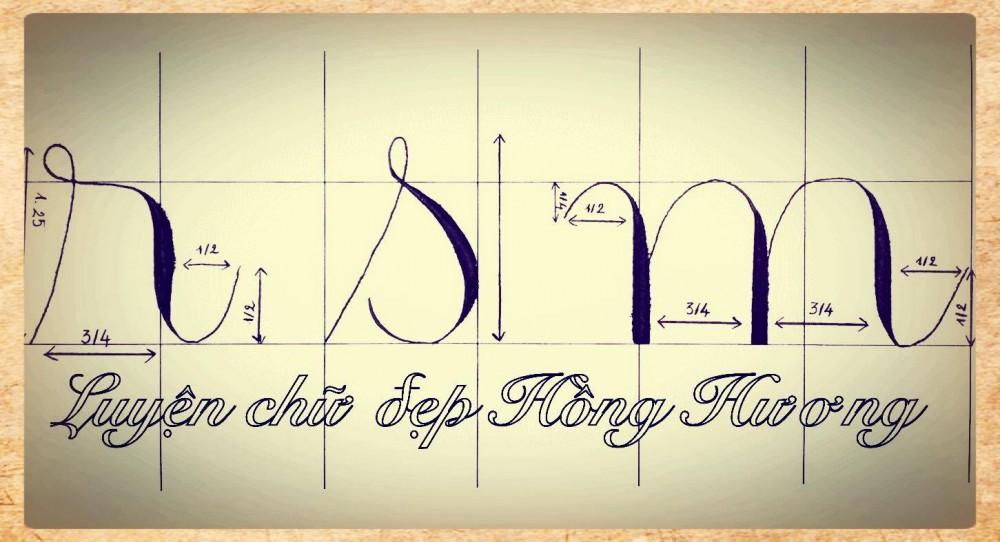 luyen viet chu dep 19 - Mẫu chữ viết tay trong luyện viết chữ đẹp