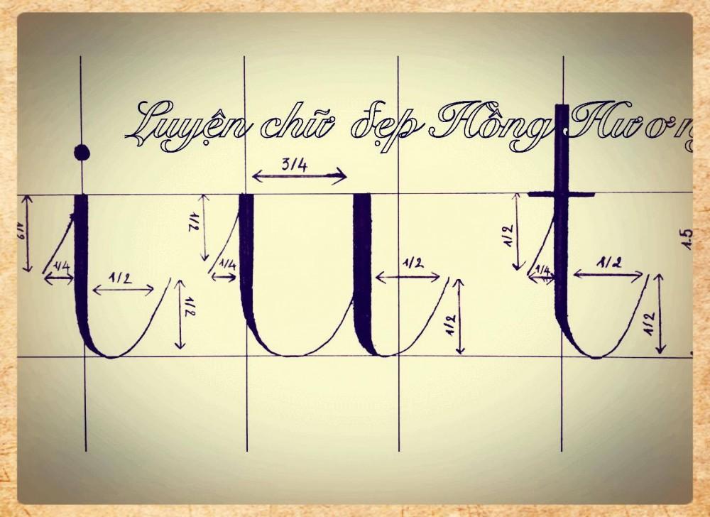 luyen viet chu dep 2 - Mẫu chữ viết tay trong luyện viết chữ đẹp
