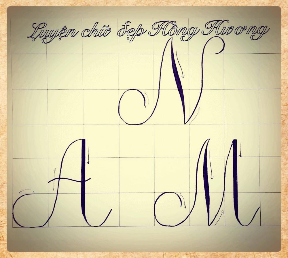 luyen viet chu dep 21 - Mẫu chữ viết tay trong luyện viết chữ đẹp