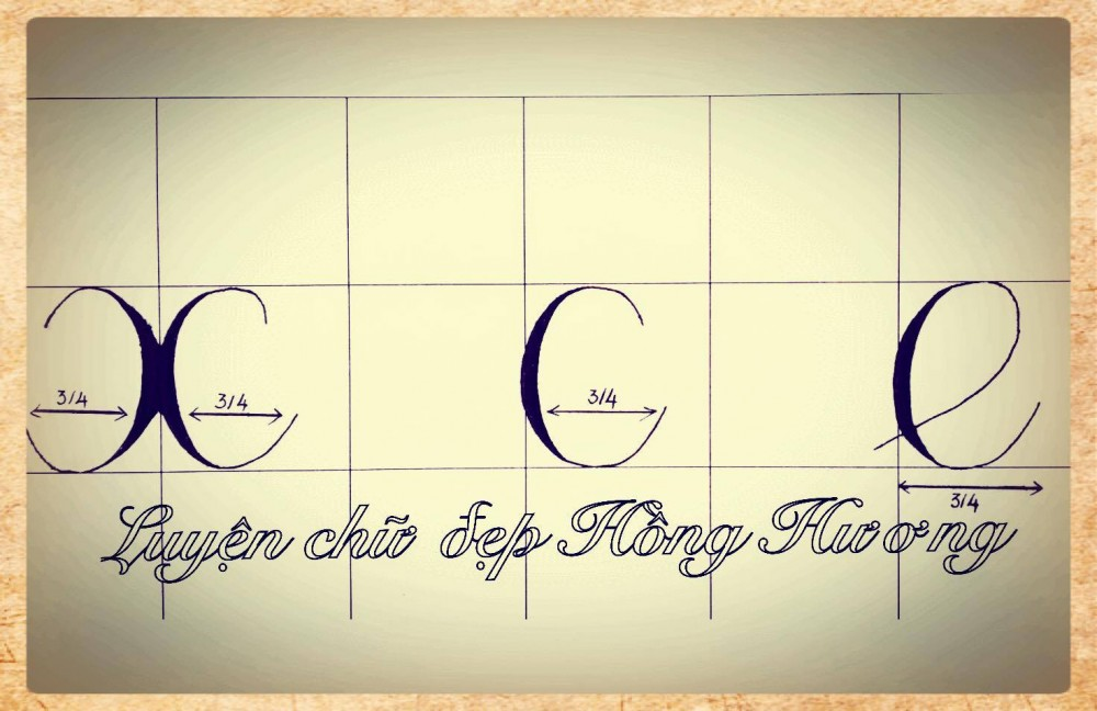 luyen viet chu dep 23 - Mẫu chữ viết tay trong luyện viết chữ đẹp