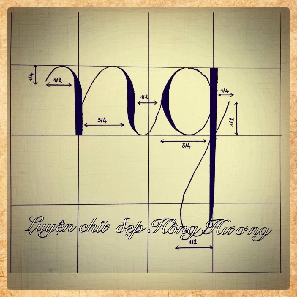 luyen viet chu dep 24 - Mẫu chữ viết tay trong luyện viết chữ đẹp