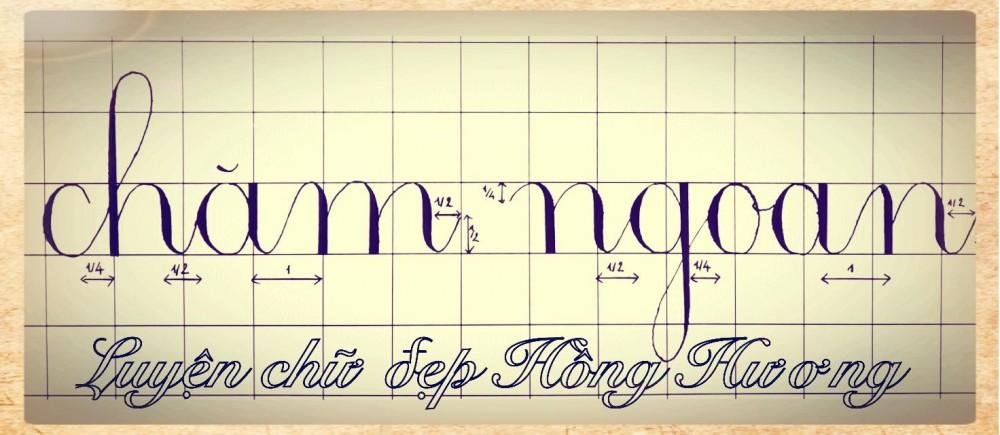 luyen viet chu dep 25 - Mẫu chữ viết tay trong luyện viết chữ đẹp