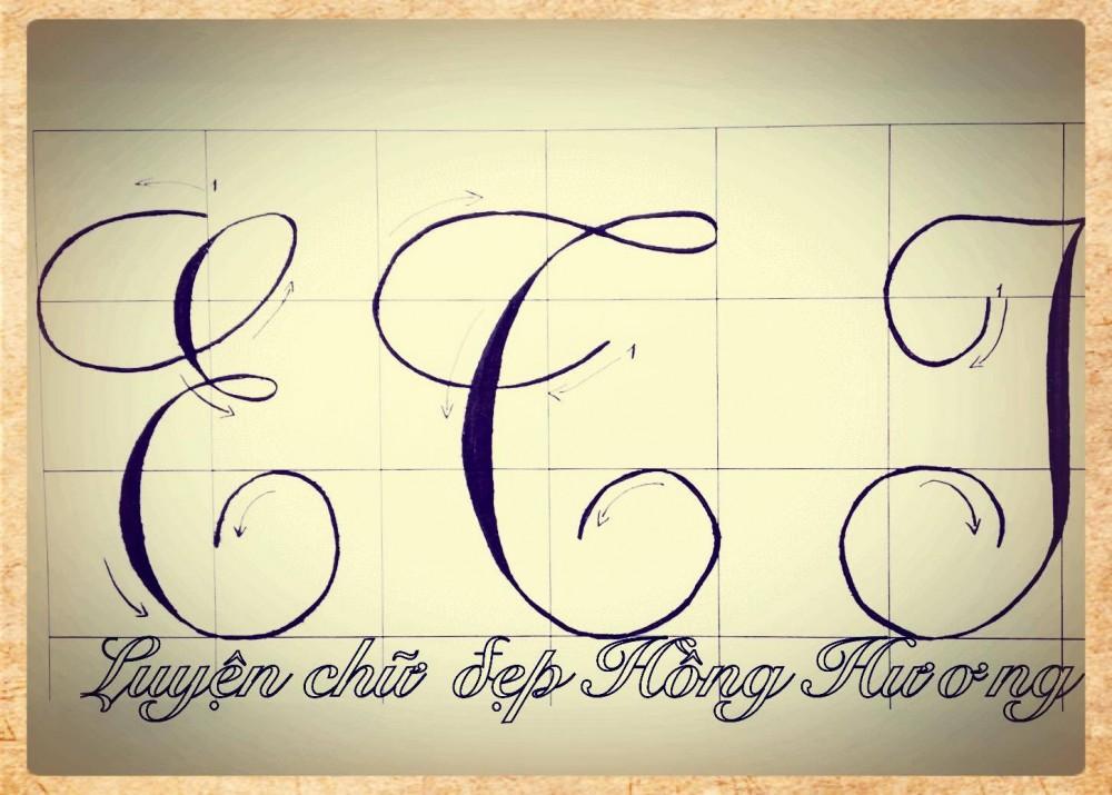luyen viet chu dep 3 - Mẫu chữ viết tay trong luyện viết chữ đẹp