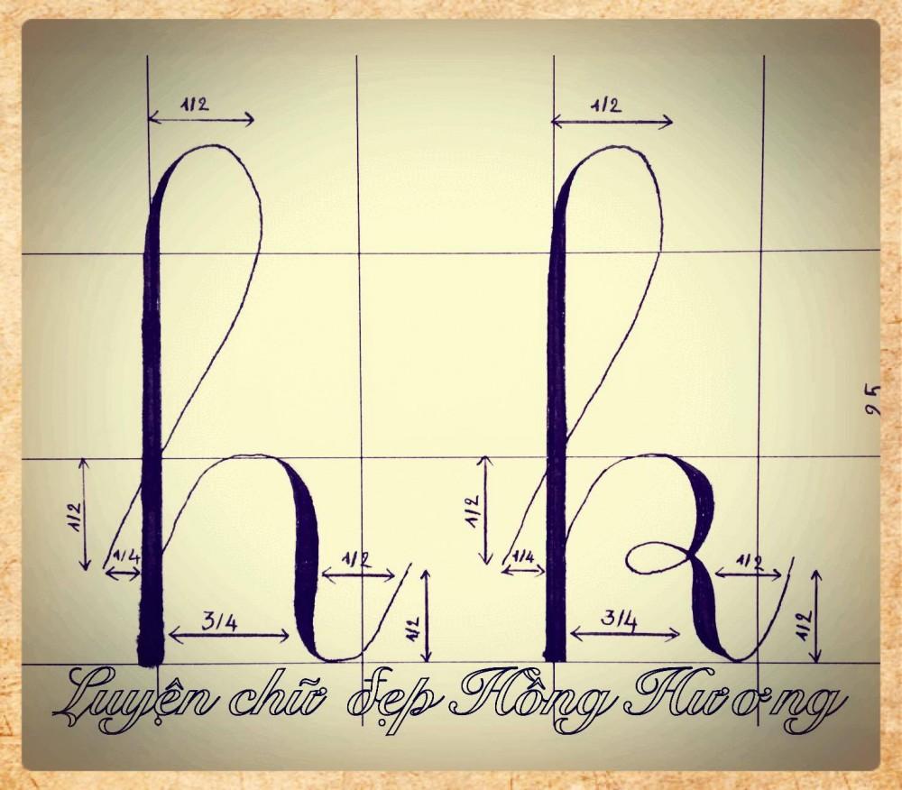 luyen viet chu dep 4 - Mẫu chữ viết tay trong luyện viết chữ đẹp