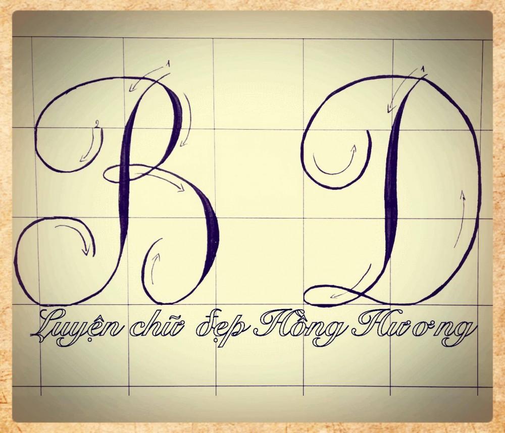 luyen viet chu dep 9 - Mẫu chữ viết tay trong luyện viết chữ đẹp