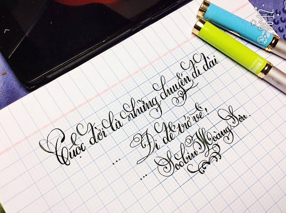 cách viết chữ đẹp
