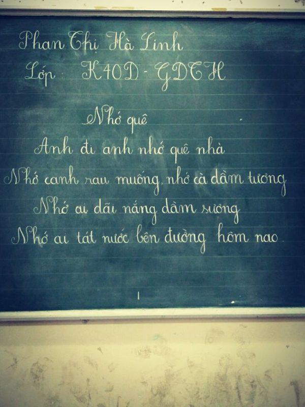 ky nang viet bang 1 600x800 - Kỹ năng luyện viết bảng đẹp dành cho học viên và giáo viên