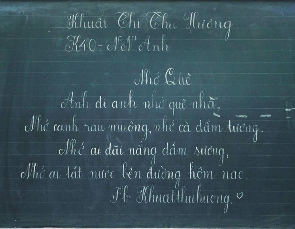 ky nang viet bang 4 - Kỹ năng luyện viết bảng đẹp dành cho học viên và giáo viên