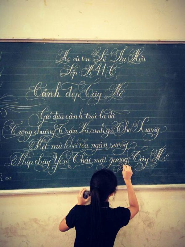 ky nang viet bang 8 600x800 - Kỹ năng luyện viết bảng đẹp dành cho học viên và giáo viên