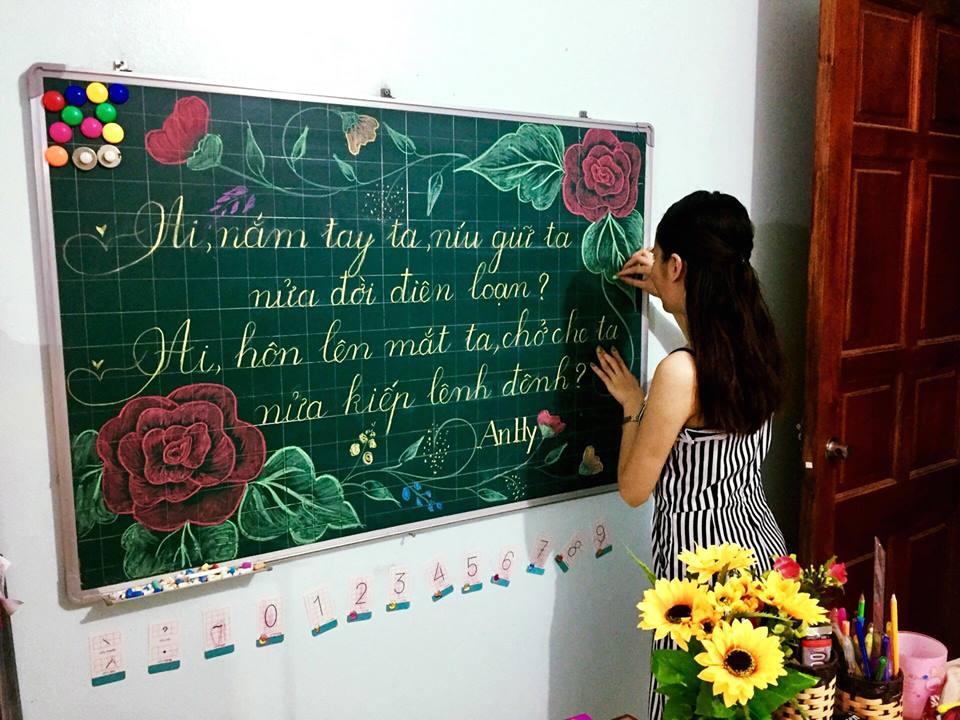 luyen viet bang 10 - Kỹ năng luyện viết bảng đẹp dành cho học viên và giáo viên