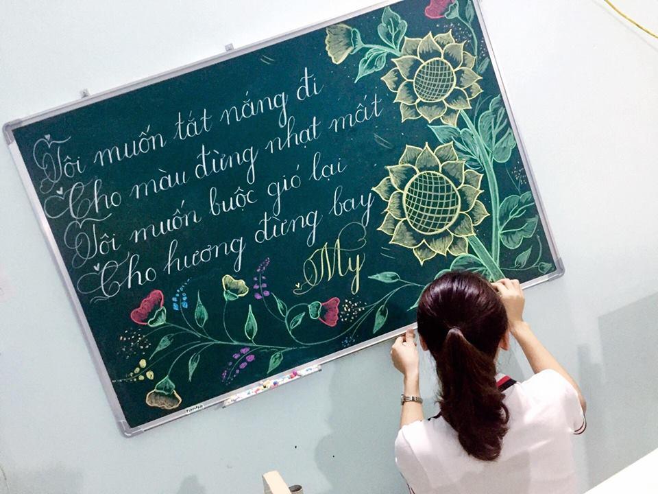 luyen viet bang 11 - Kỹ năng luyện viết bảng đẹp dành cho học viên và giáo viên