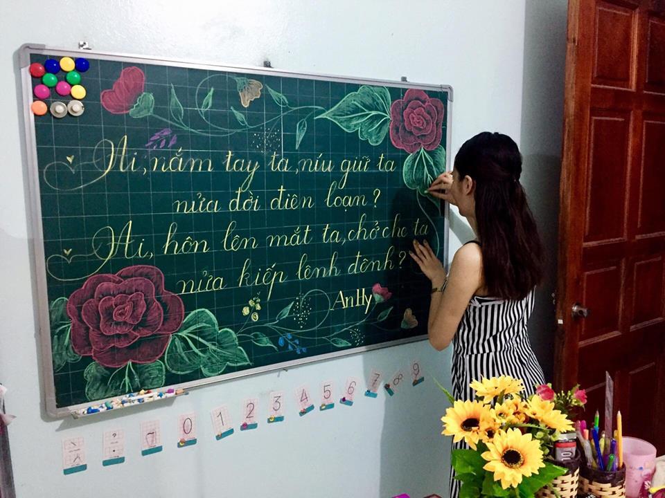 luyen viet bang 12 - Kỹ năng luyện viết bảng đẹp dành cho học viên và giáo viên