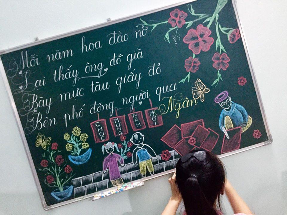 luyen viet bang 2 - Kỹ năng luyện viết bảng đẹp dành cho học viên và giáo viên