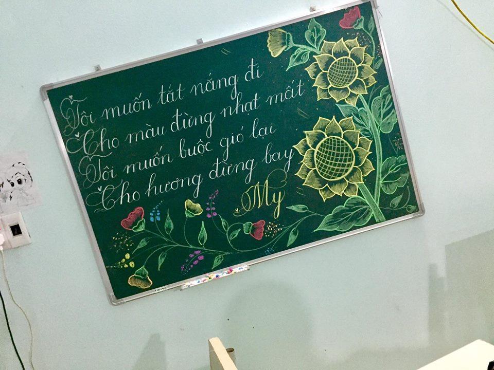 luyen viet bang 9 - Kỹ năng luyện viết bảng đẹp dành cho học viên và giáo viên