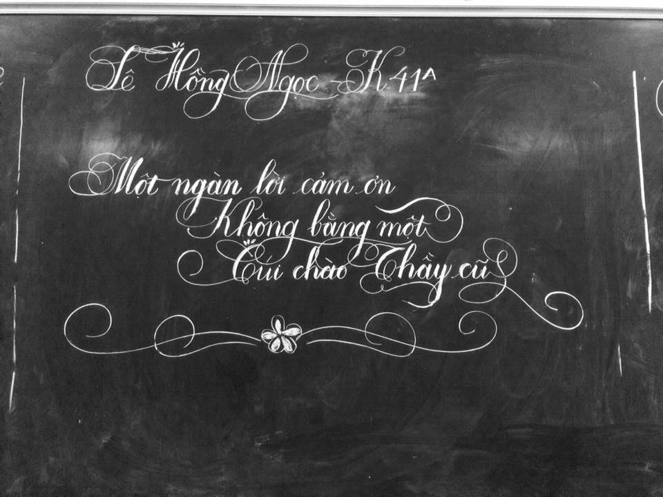 luyen viet chu dep 2 - Luyện viết chữ đẹp không bao giờ lỗi thời dù ở trong thời đại nào