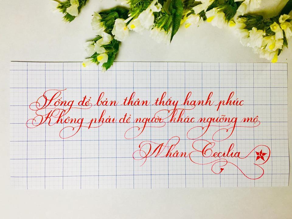 cac kieu chu dep 3 1 - Ngỡ ngàng trước các kiểu chữ đẹp hoàn hảo được viết bằng tay