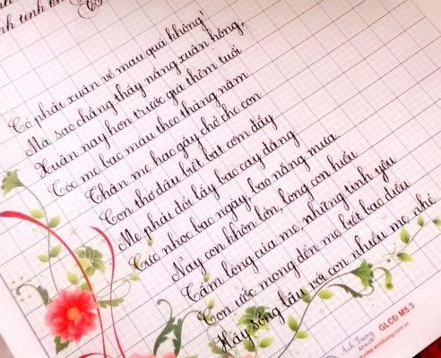 cac kieu chu dep 4 492x400 - Ngỡ ngàng trước các kiểu chữ đẹp hoàn hảo được viết bằng tay