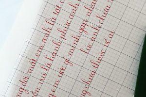 chu viet dep 300x200 - Tuyệt chiêu để có được chữ viết đẹp khiến ai cũng ngỡ ngàng