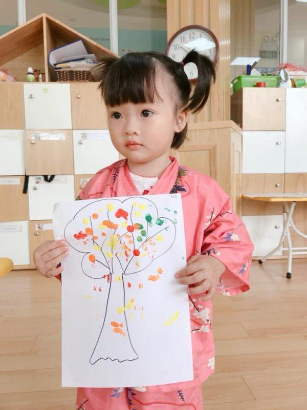 dạy vẽ cho bé