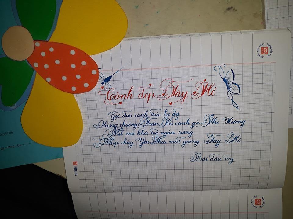 mau luyen chu dep 2 - Dụng cụ cần thiết để con học các mẫu luyện viết chữ đẹp