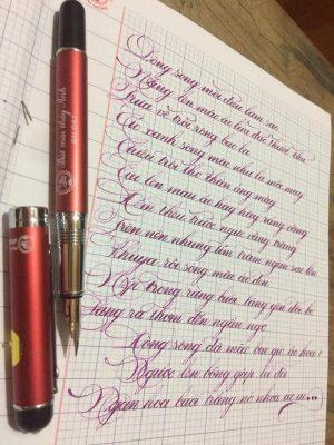 mẫu luyện chữ đẹp