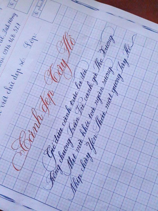 rèn chữ viết đẹp