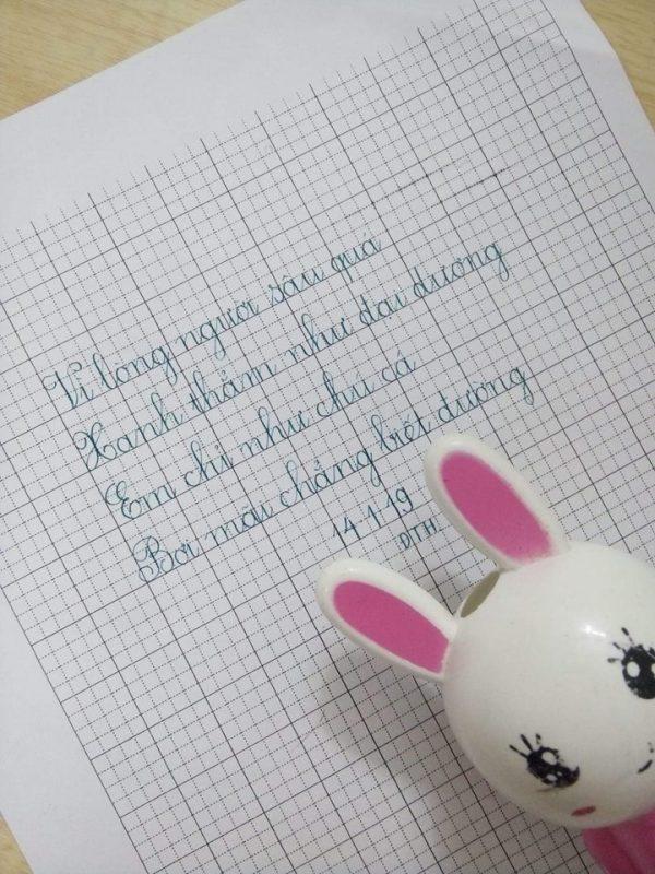 ren chu viet dep 4 600x800 - Tại sao bố mẹ nên rèn chữ viết đẹp cho con khi học cấp 1